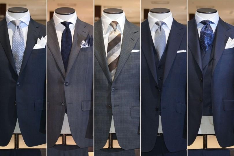 fde64cd85c さて、今回は多くのお客さまに選ばれている、人気スーツ5選をお届けいたします! 今季春夏スーツはクラシックテイストなものが多いとご紹介いたしましたが、クールビズ  ...