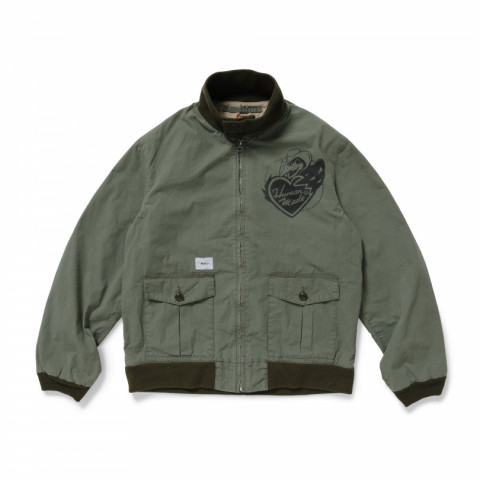<WTAPS × HUMAN MADE®>WTAPS TANKERS JACKET / JACKET. COTTON. WEATHER. HUMAN MADE 60,280円