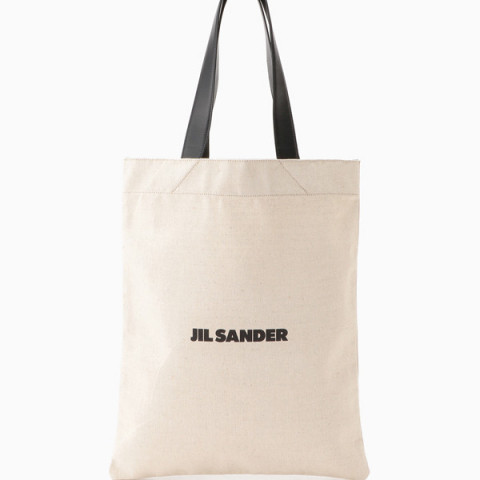 <ジル サンダー>バッグ「FLAT SHOPPER MD」 74,800円