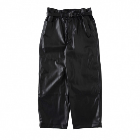 〈サバイ〉SUPER BIG PANTS「Washable synthetic lamb skin」30,800円