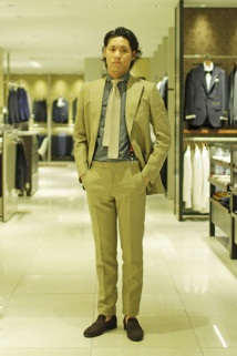 "TODAY'S ISETAN MEN'S STYLIST|TREND SELLECTION ""Fun the Suits Style"""