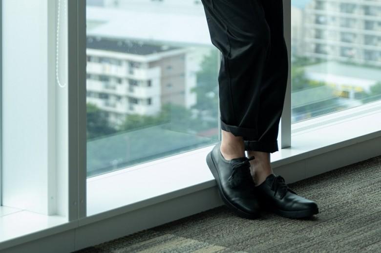 〈アシックスランウォークリード〉未来に向けた革靴を考える。|ISETAN靴博2020