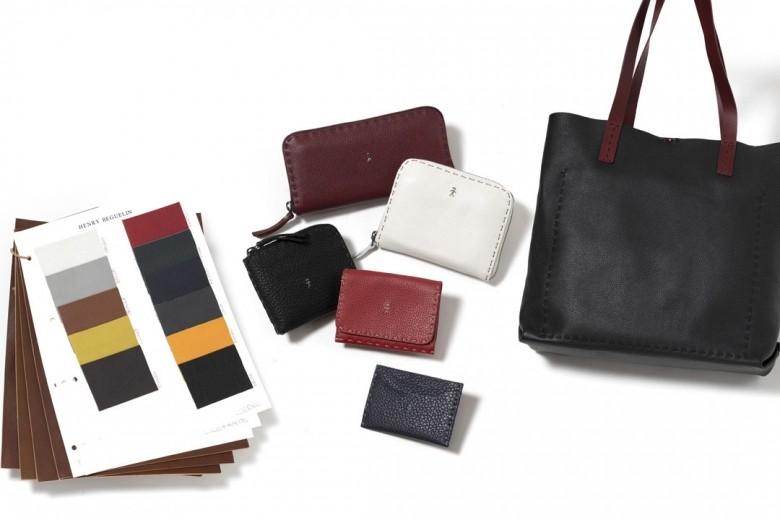 ミニ財布やトートバッグもオーダー可能、<エンリー ベグリン>パターンオーダー会を開催。