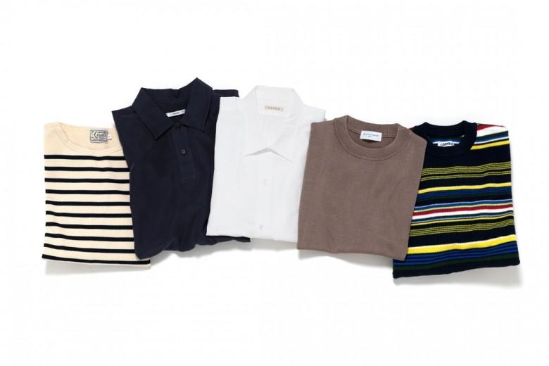 メンズ館1階 セーター・カジュアルシャツ|2021年春夏シーズンの新規ブランドをご紹介!
