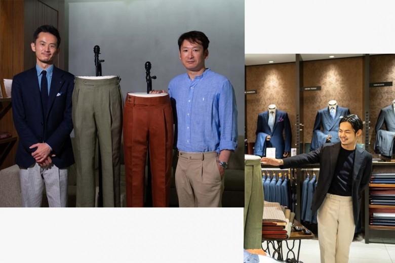 【Fun to Dress vol.2】 サヴィル・ロウのパンツ職人に由来する<ドラマーズ>とは?|伊勢丹新宿店 メンズ館 メイド トゥ メジャー