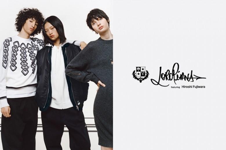 <ロロ・ピアーナ>が藤原ヒロシ氏と初コラボレーション!伊勢丹新宿店 本館1階 ザ・ステージでポップアップ開催。