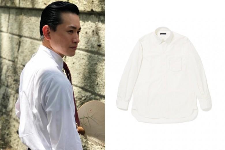 ヴィンテージ好き必見!昭和初期のディテールが詰まったメンズシャツが阿部高大氏とイセタンメンズのコラボで誕生。