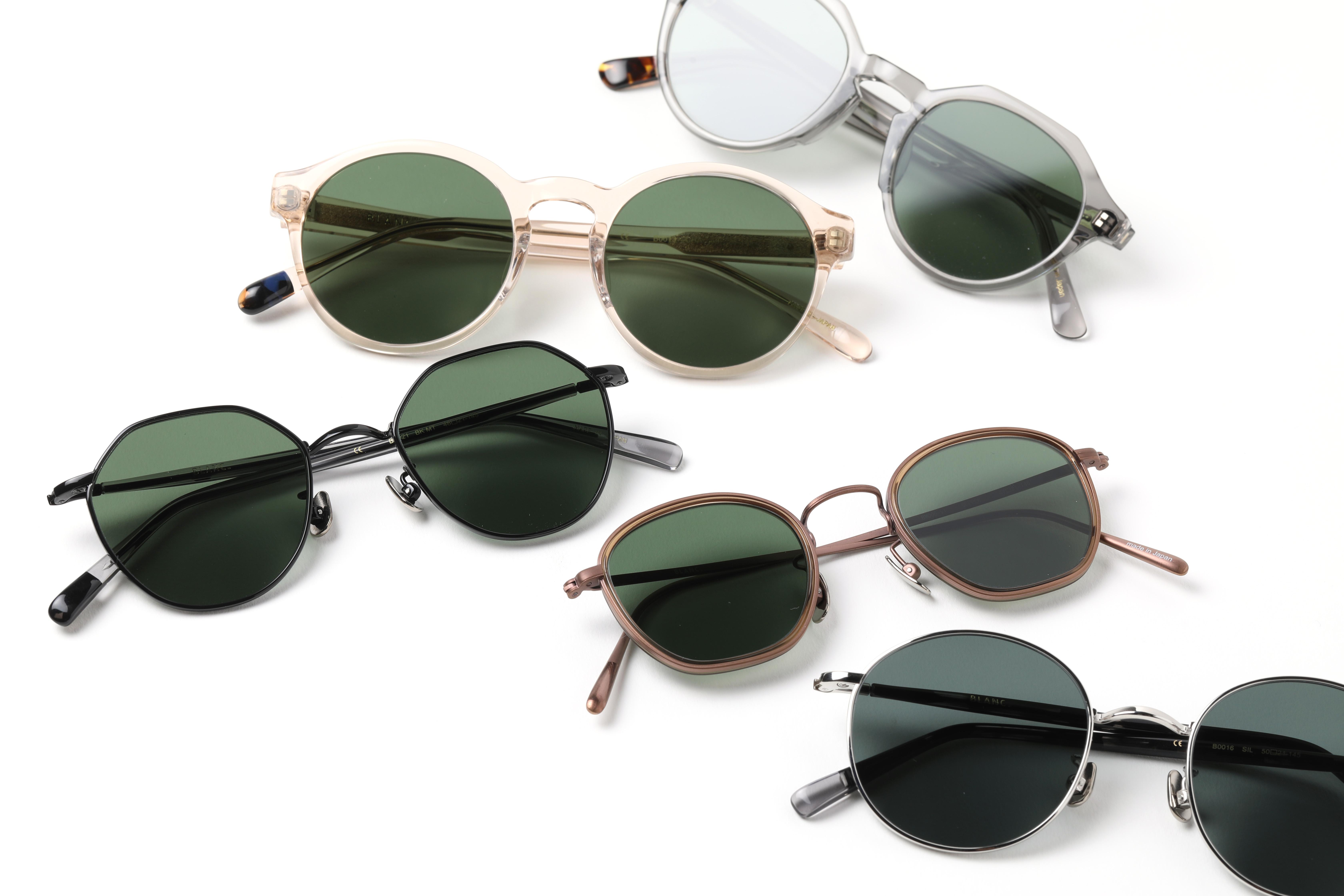<BLANC../ブラン> どんなスタイルにも合うサングラス。期間限定ポップアップに伊勢丹新宿店限定アイテムが登場